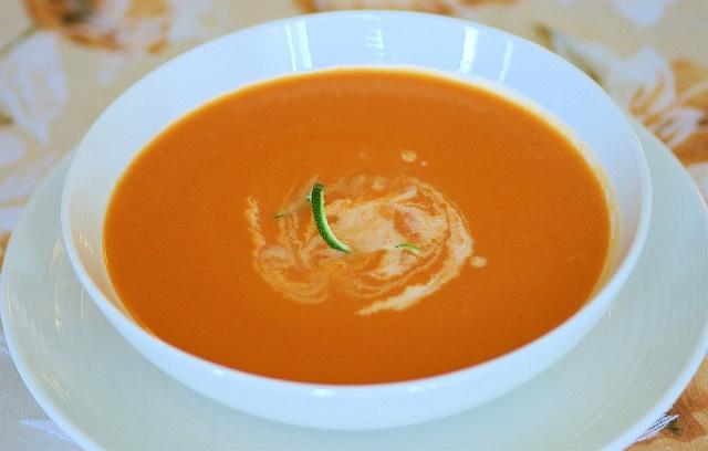 суп-пюре из моркови детский