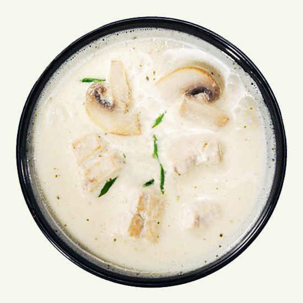 Грибной соус на молоке из лесных грибов пошаговый рецепт
