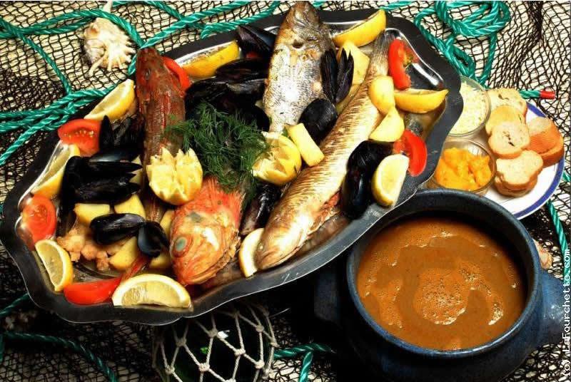 Буйабес-суп бедных рыбаков