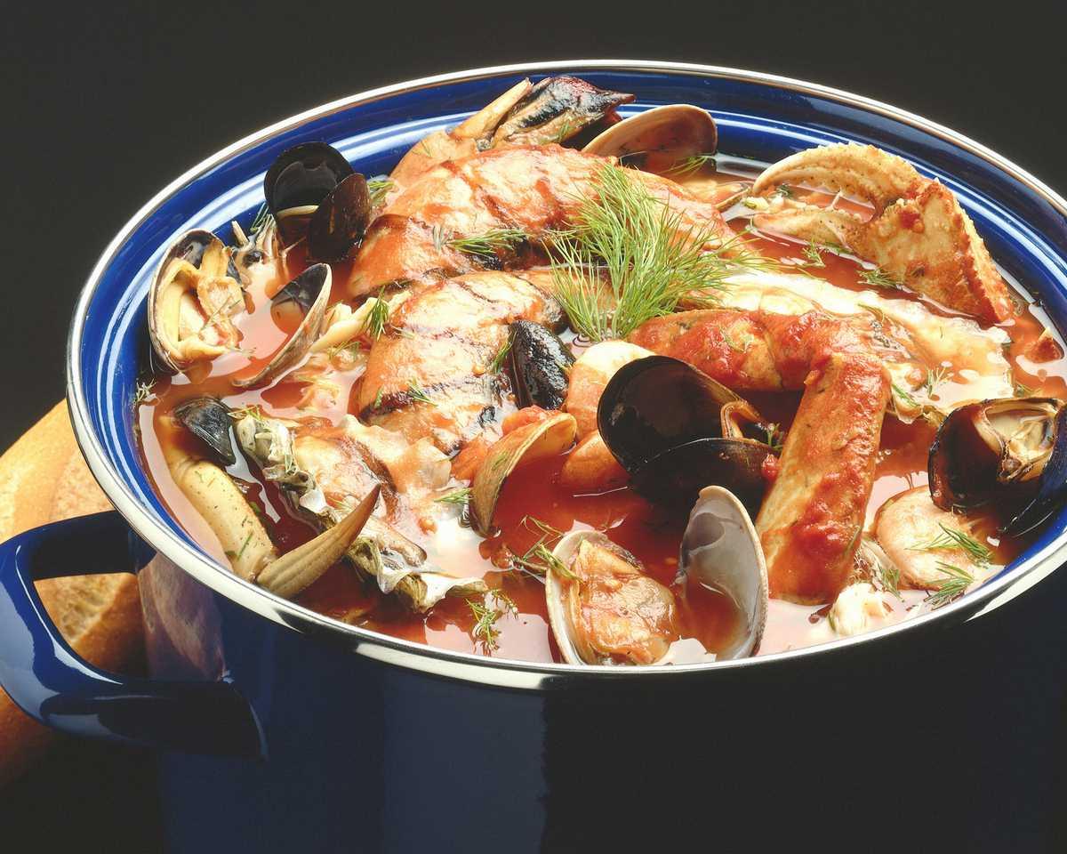 Французский суп марсельских рыбаков