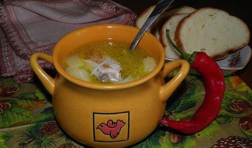 Как приготовить суп из куриных крылышек