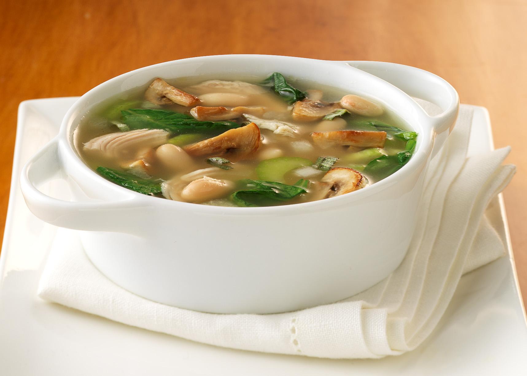 грибной суп на воде рецепт