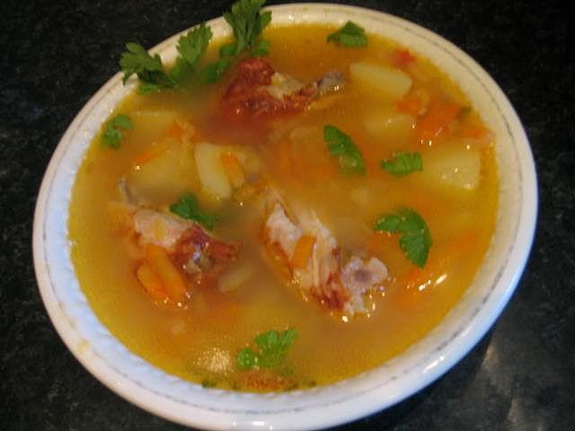 Готовим суп из куриных крылышек