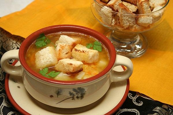 Готовим суп для детей
