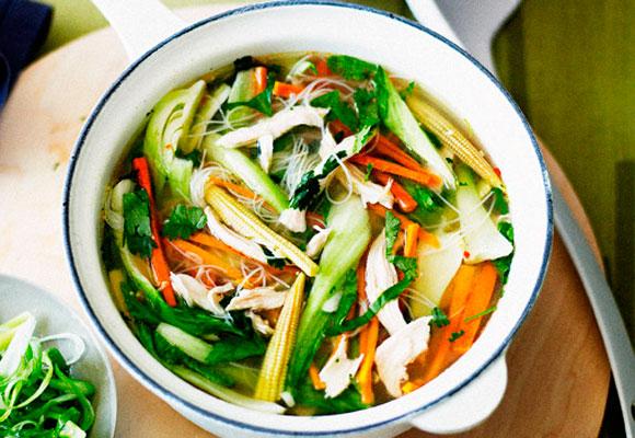 Рецепт китайского супа с лапшой