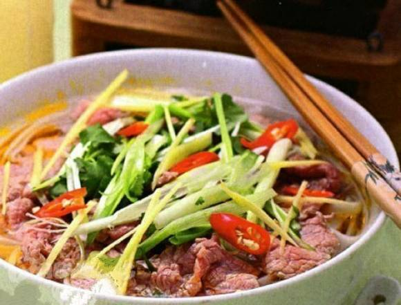 Легендарный вьетнамский суп Фо бо
