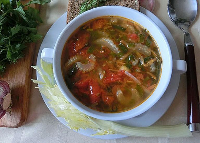 Суп из сельдерея рецепт для толстяков