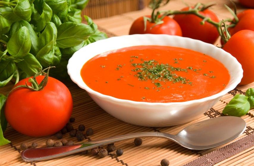 Рецепт томатного супа для похудения