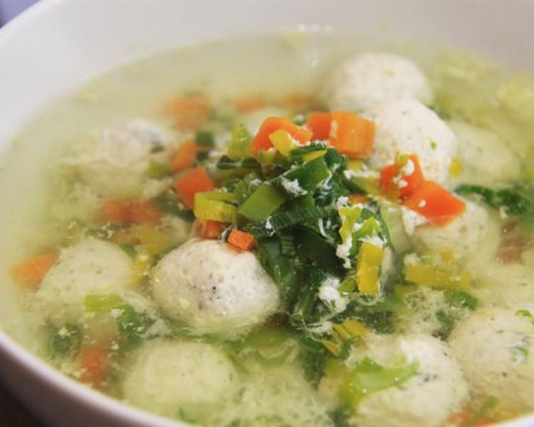 рецепт легких салатов и супов