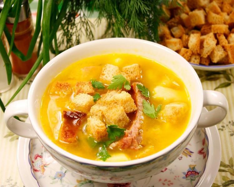 Гороховый суп малышам