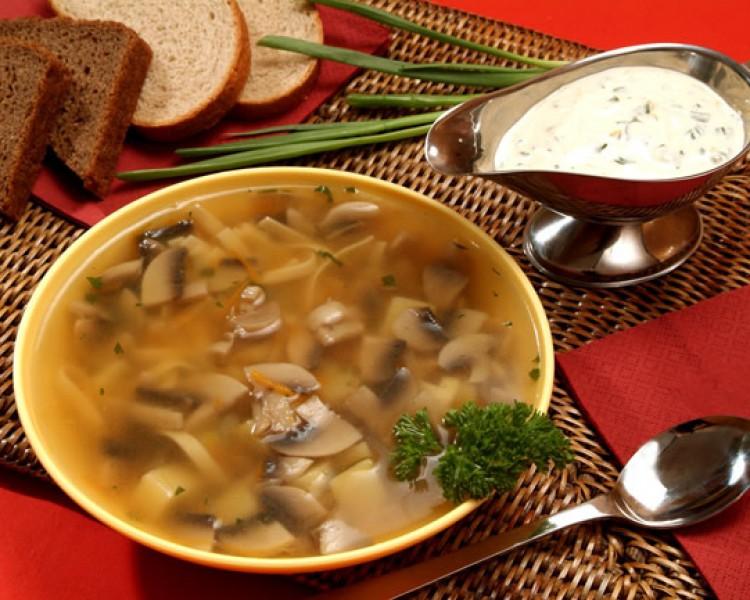 Готовим гороховый суп с грибами