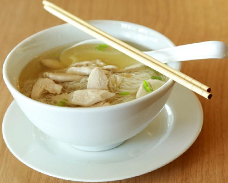 Грибной суп лапша