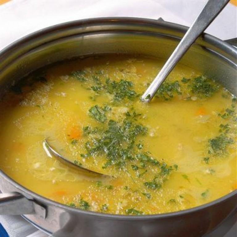 Сварить суп из курицы