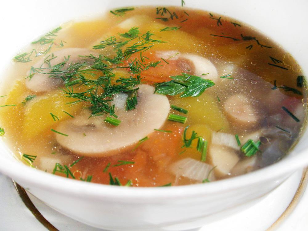 Грибной суп — 26 рецептов с фото. Как приготовить суп из ...