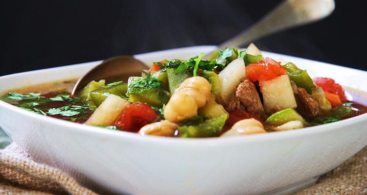 Ароматный суп из баранины