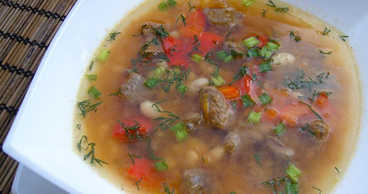 Превосходный суп из баранины