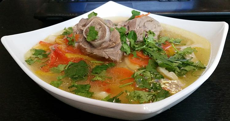 Аппетитный суп из баранины