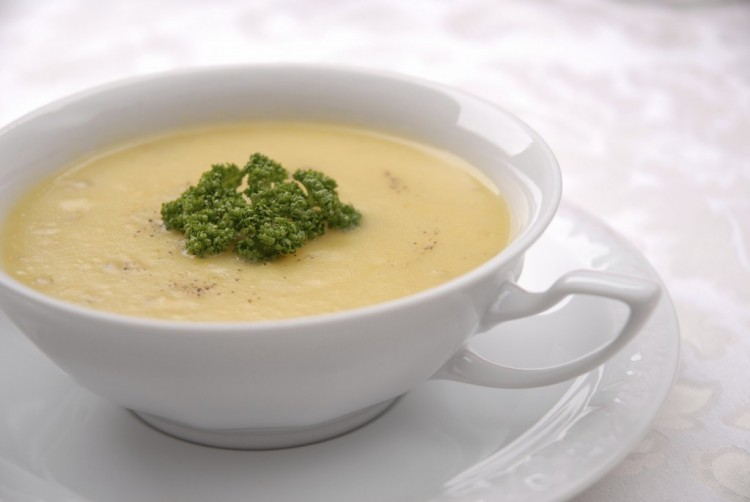 Вкусненький суп-пюре в мультиварке