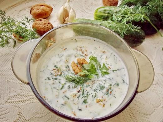 суп с орехом