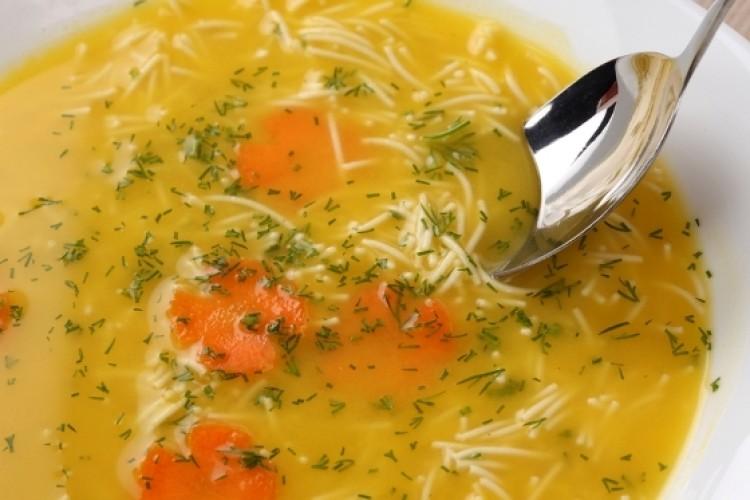 Суп в мультиварке с макаронами