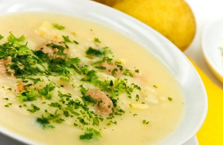 Куриный суп-пюре
