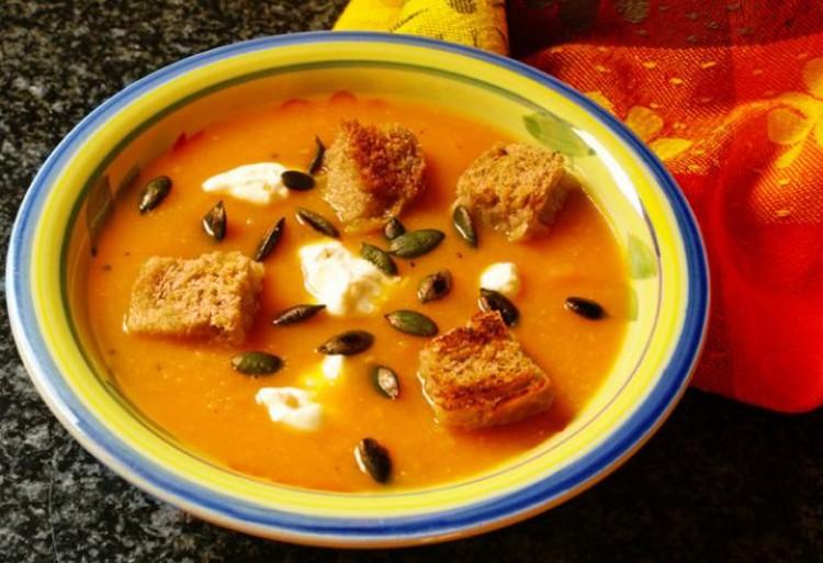 Вкусный тыквенный суп