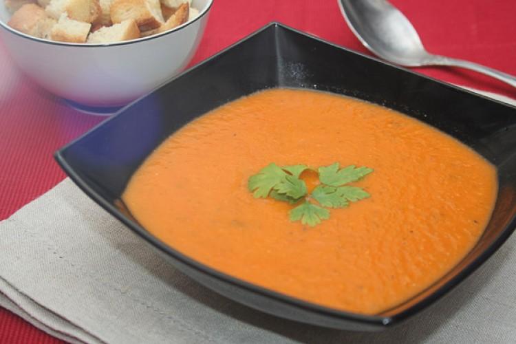 Вкусный диетический суп-пюре
