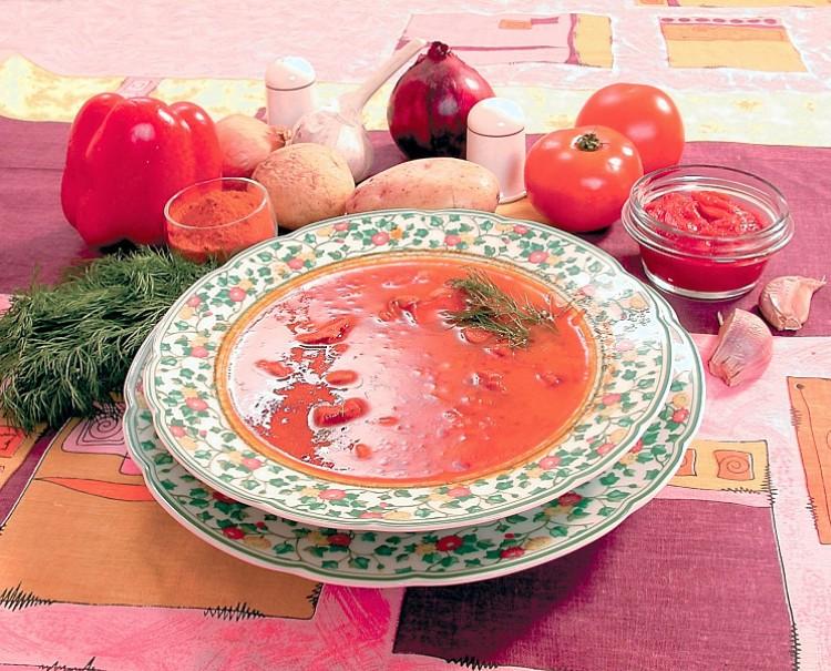Вкусный суп из хвостов