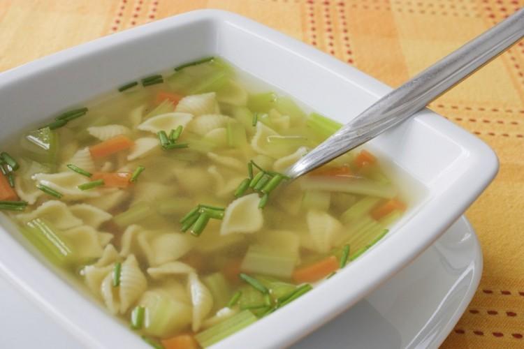 Вкусненький диетический суп