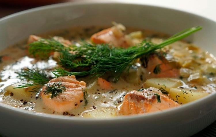 инский суп со сливками