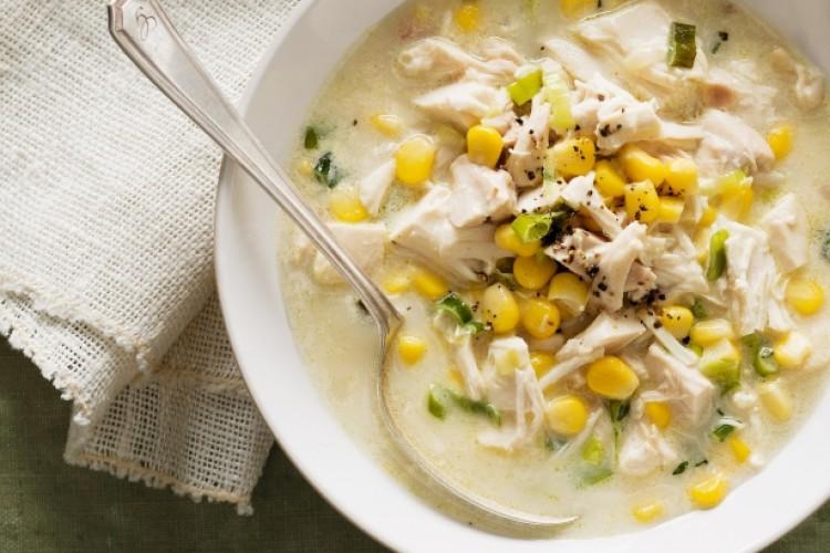 Вкусный суп с кукурузой