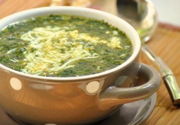Суп с курицей и яйцом рецепт
