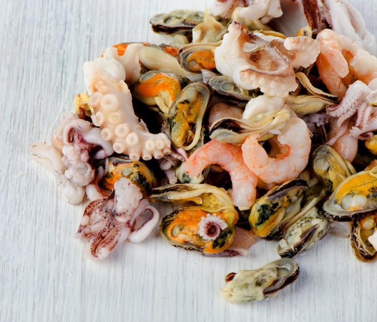 Морепродукты для супа