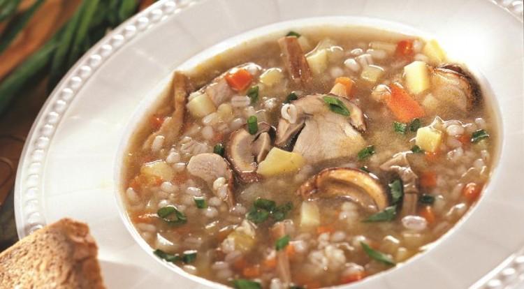Приготовление супа с перловкой
