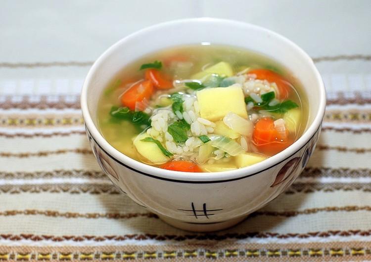 Вкусный рисовый суп