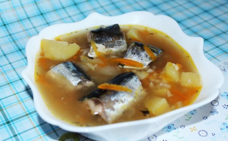 Вкусный рыбный супчик