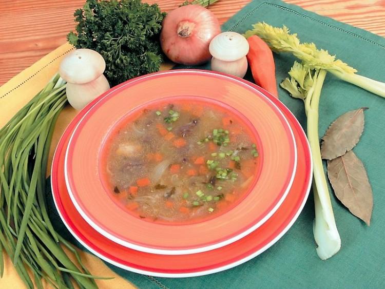 Вкусный суп из бычьего хвоста