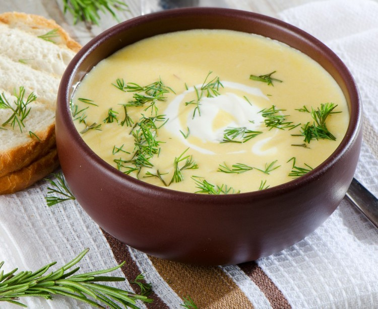 Вкусный суп пюре