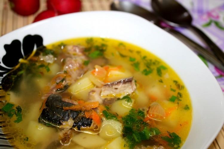 Рыбный суп с сардиной