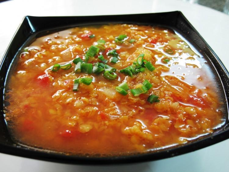 Индийский суп дал