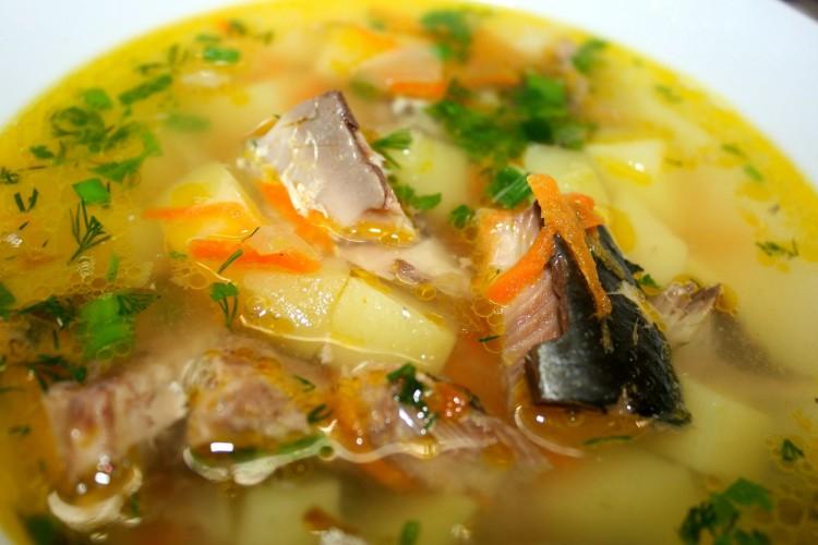 Приготовить суп из сардины