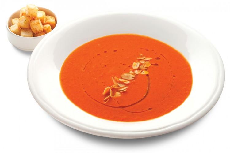 Суп-пюре с помидорами