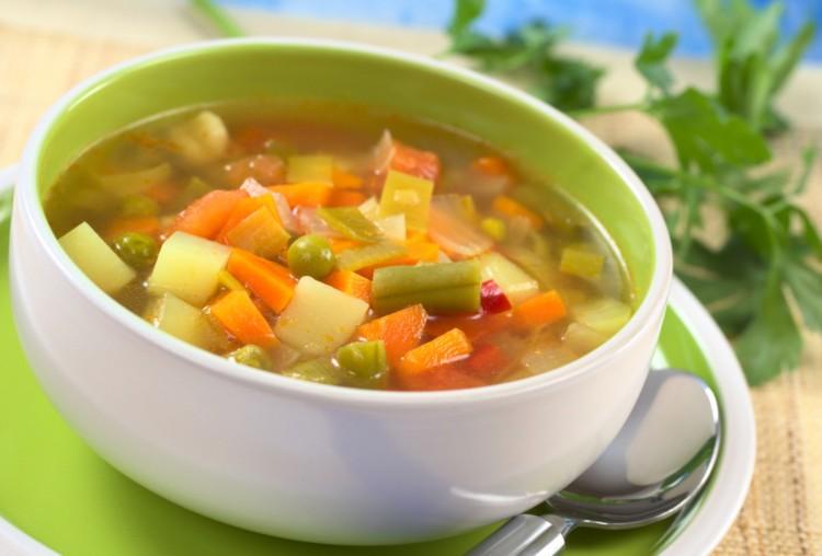 рецепт макаронного супа без мяса