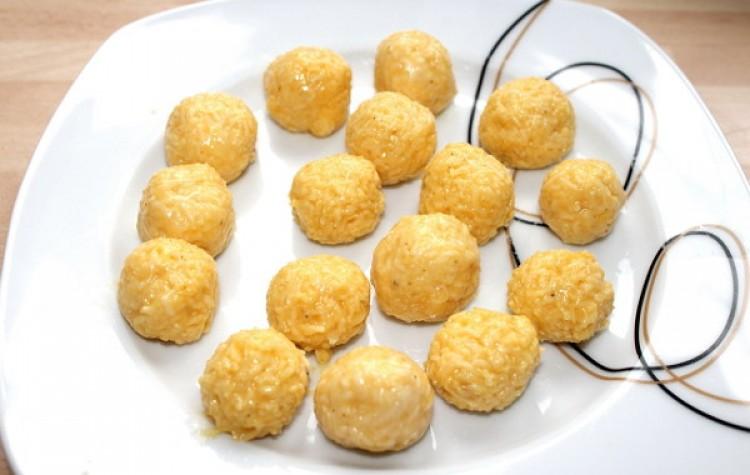 Сырные клёцки