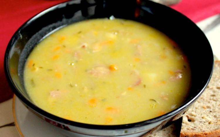 Гороховый суп в мультиварке фото пошаговый фото рецепт пошаговый