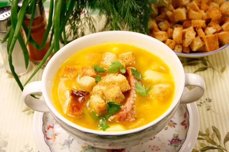 суп гороховый со свининой рецепт с фото