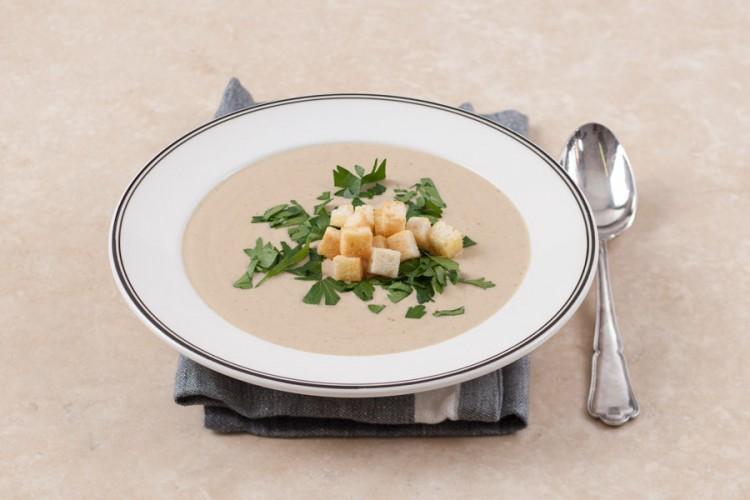 Вкусный суп с грибами