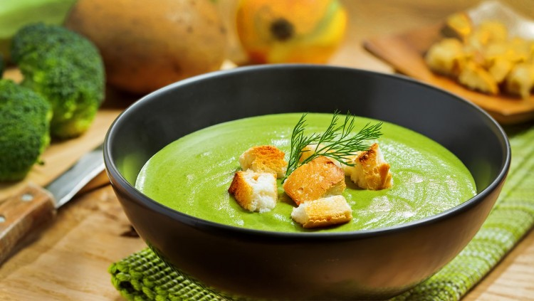 Вкусный крем-суп из брокколи