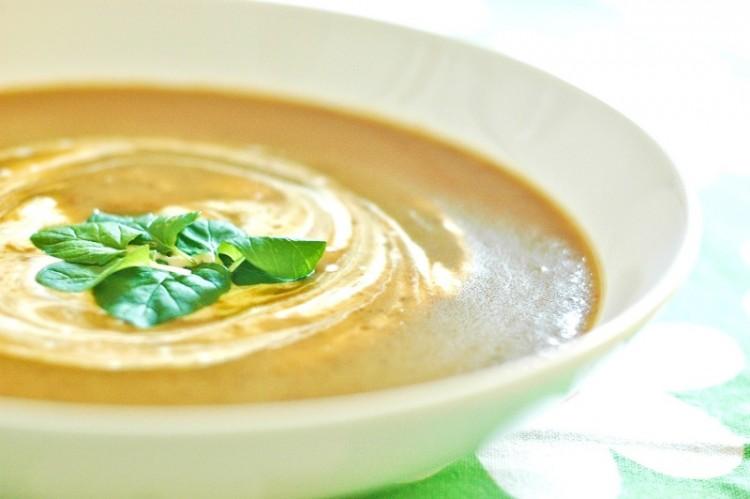 Вкусный крем-суп с чечевицей