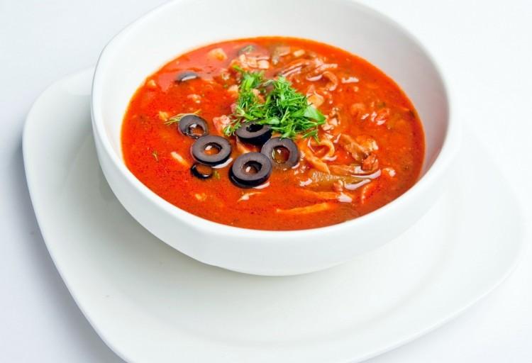как приготовить солянку суп быстро